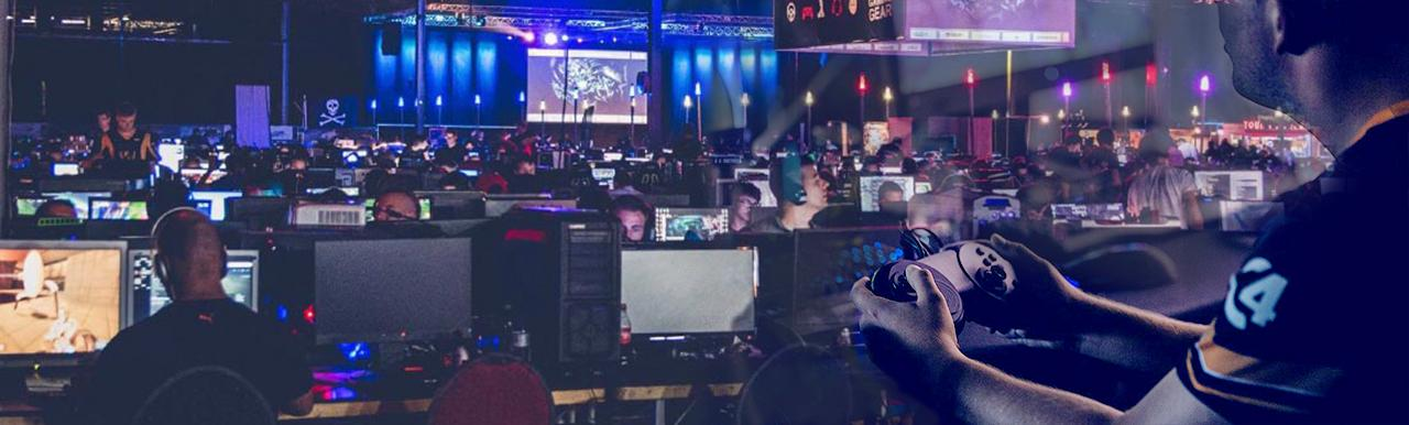 LAN- en gaming event The Reality
